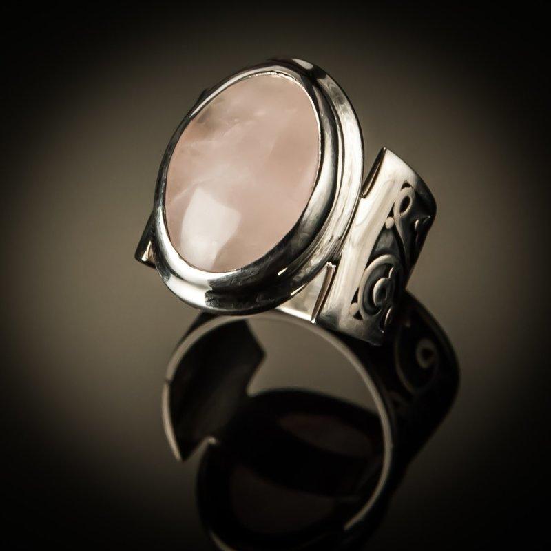 Vintage Gemstone Sterling Silver Unisex Ring