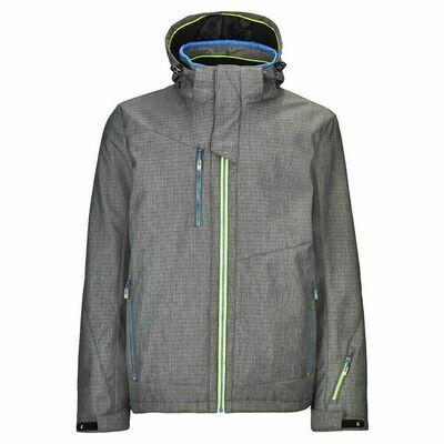Killtec Men's Tarang 3-Layer Hooded Jacket
