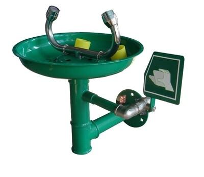 Laveur d'yeux de sécurité mural – Vasque en ABS