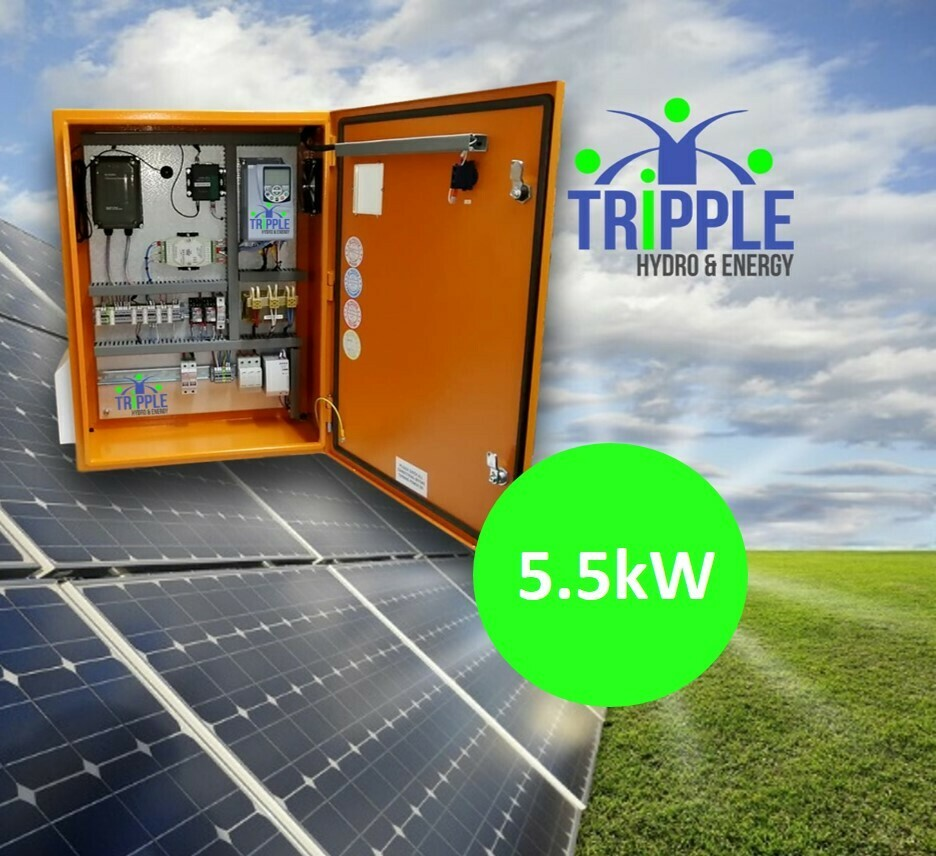 5.5kW Three Phase 380V Solar VSD Conversion Kit