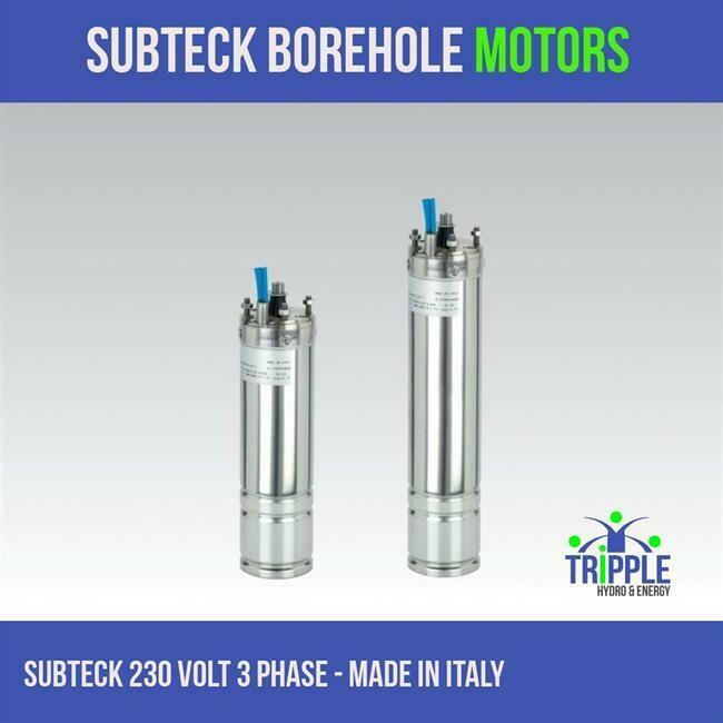 Subteck Oil Filled Motor - 0.37KW 220V - 3 Phase