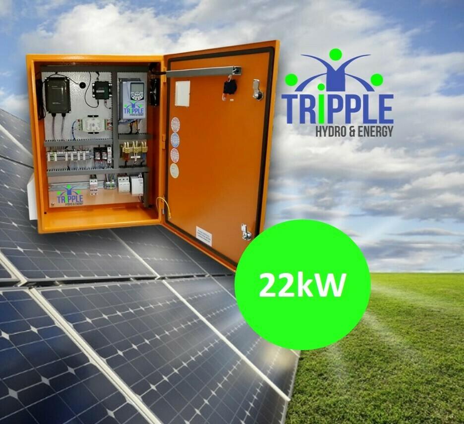 22kW Three Phase 380V Solar VSD Conversion Kit