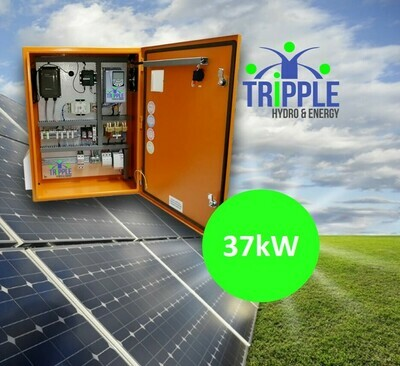 37kW Three Phase 380V Solar VSD Conversion Kit