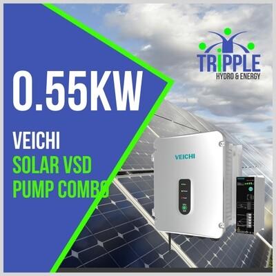 0.55kW Three Phase 220V Solar VSD Conversion Kit