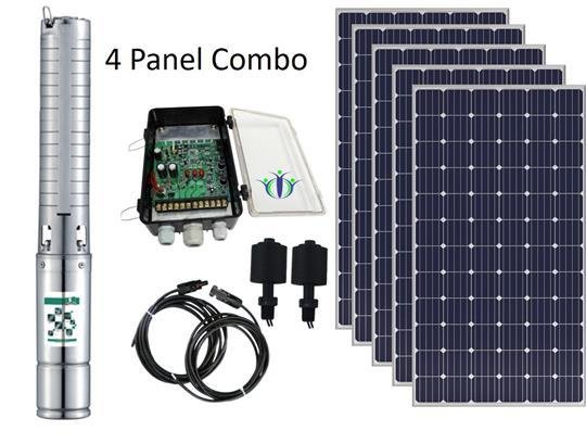 Pumpman Bovem 140-4 Solar Pump Combo