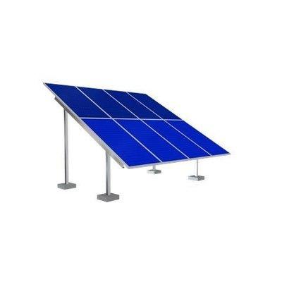 Solar Ground Mounting Frame - 4 Panel
