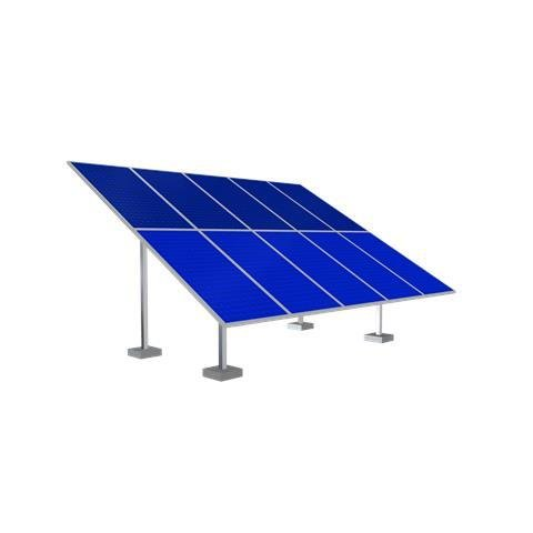 Solar Ground Mounting Frame - 10 Panel