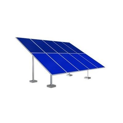 Solar Ground Mounting Frame - 10 Panel
