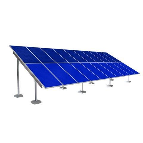 Solar Ground Mounting Frame - 30 Panel
