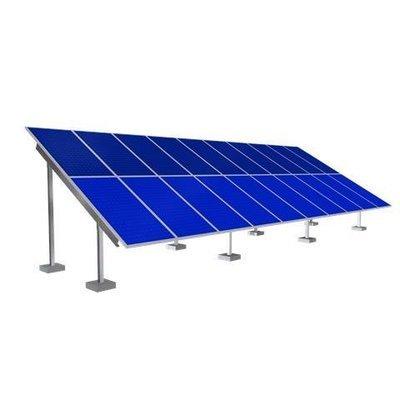 Solar Ground Mounting Frame - 30 Panel