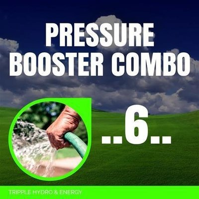 Booster Pump Combo 6 - Extra Large Home & Garden