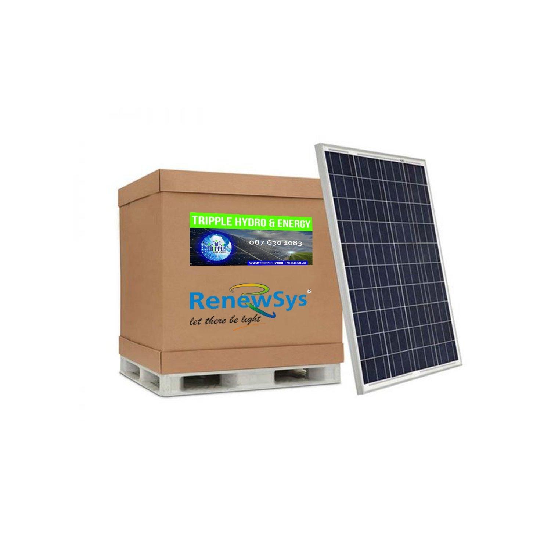 Renewsys 325 Watt Solar Panel (Pallet of 26)(R4.80/Watt excl Vat)