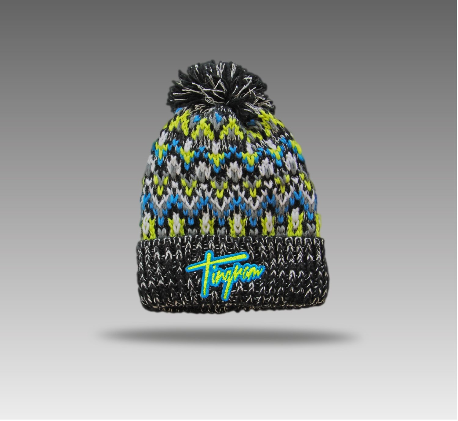 Tingram Bobble Hat