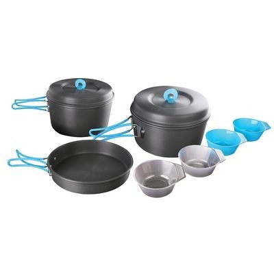 Stansport 4 Person Hard Anodized Cook Set