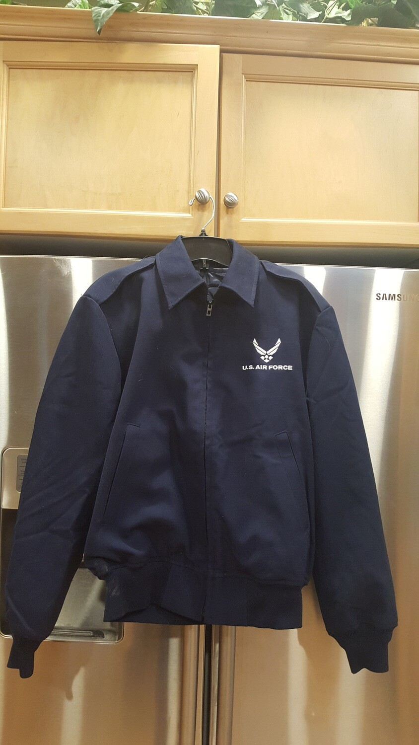 US Air Force Bomber style jacket w/removable liner