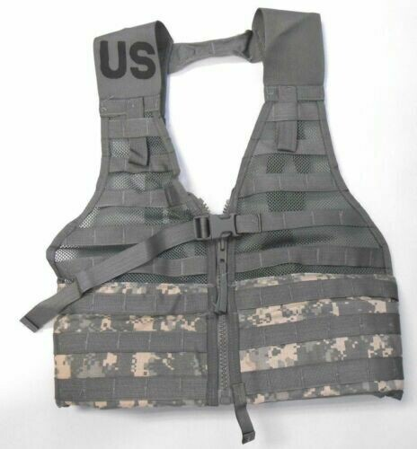 US Military ACU FLC Fighting Load Carrier Tactical Vest