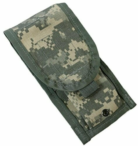 US Military Molle pouches - perfect for bear spray, compact camera or backpack accessory pouch
