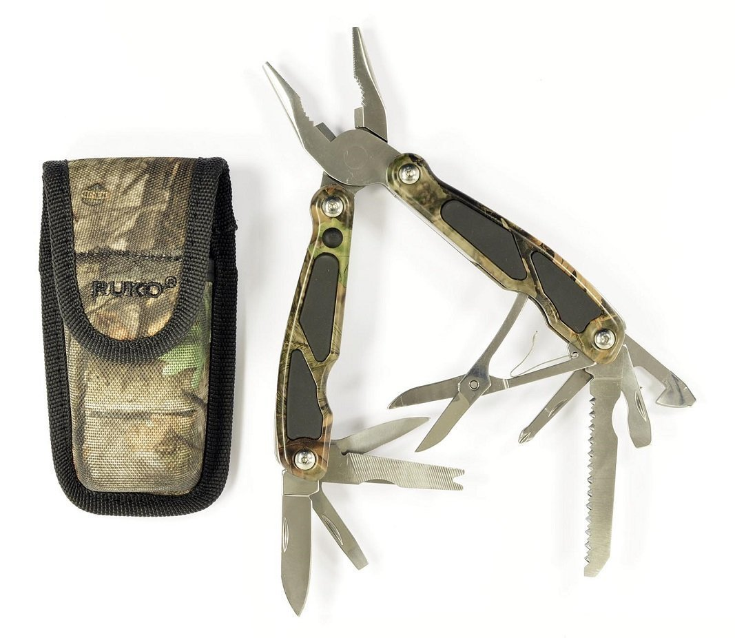 Ruko Camo Folding Multi-Tool Knife #RUK0055