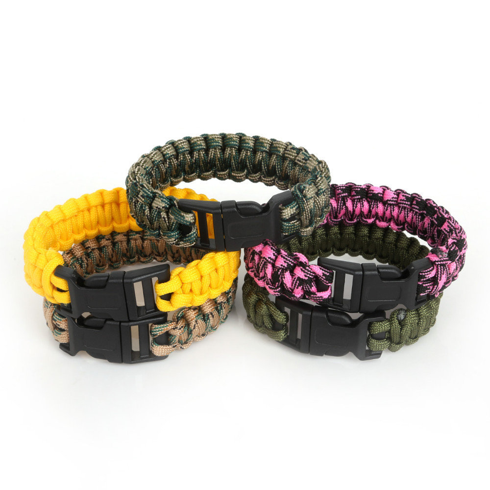 CKO Paracord 550 Mil Spec Backpacking Camping Survival Bracelets