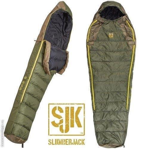 Slumberjack -7C Lapland Hybrid Down Sleeping Bag - Long Fit