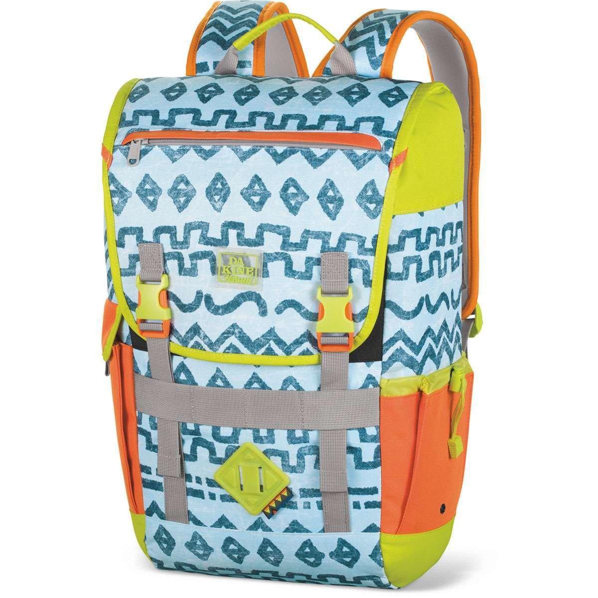 Dakine Ledge Salty Blue & Green 25L Backpack, One Size fits all