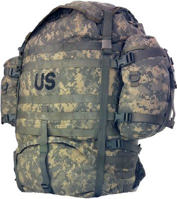 US Military Army Rucksack Backpack MOLLE II Large Field Pack