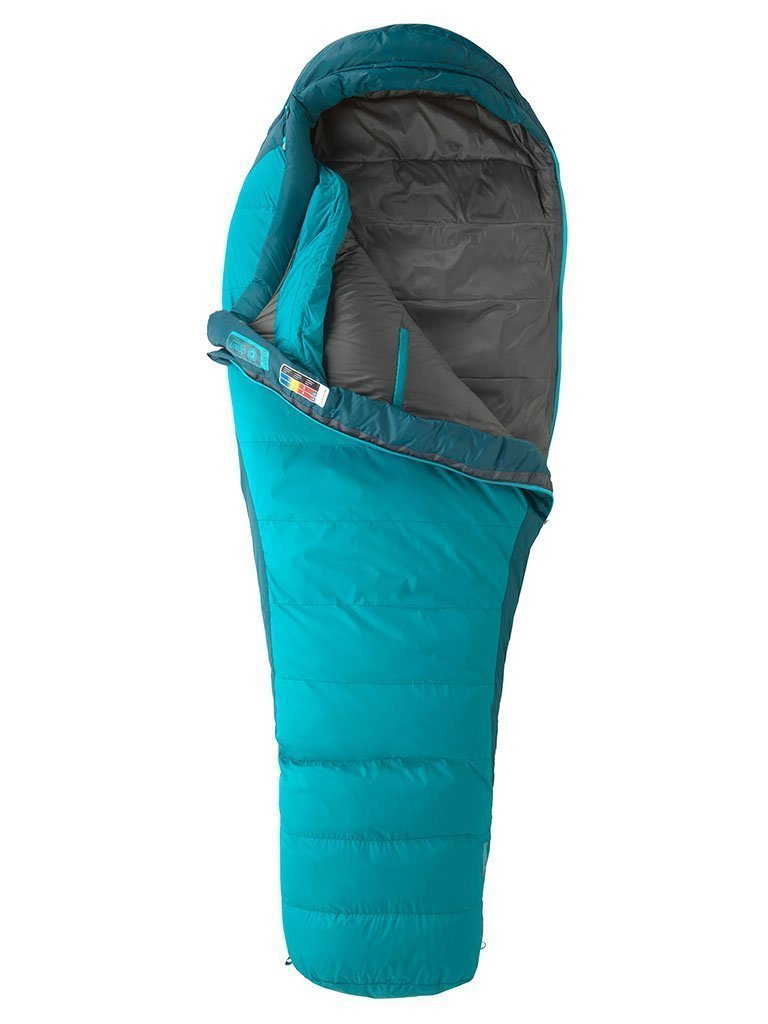 "Marmot Celestrum 20F/-7C DriDown Sleeping Bag, fits up to 5 ft 6"""