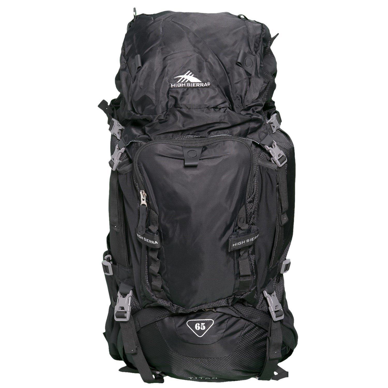 High Sierra Titan 65L Backpack - Adjustable Fit