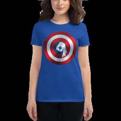 CAPTAIN BROMERICA - BROMAZIN Women's short sleeve t-shirt