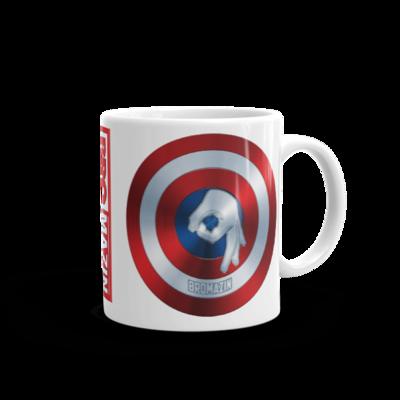 CAPTAIN BROMERICA - BROMAZIN Mug