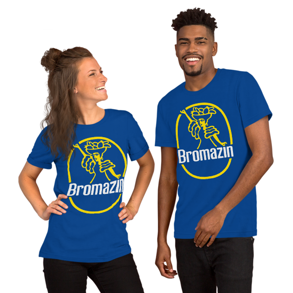 BROQUITA - BROMAZIN BLUE Short-Sleeve Unisex T-Shirt