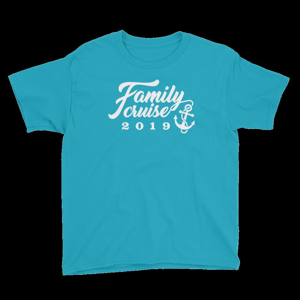 FAMILY CRUISE 2019 Youth Short Sleeve T-Shirt