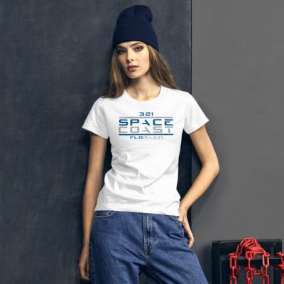FLOMAZIN 321 SPACE COAST Women's short sleeve t-shirt