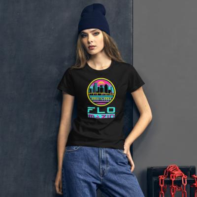 FLOMAZIN MIAMI VICE Women's short sleeve t-shirt