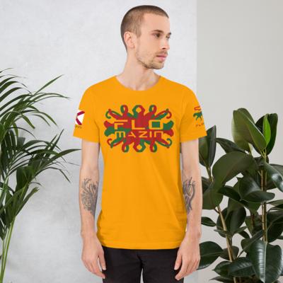 FLOMAZIN PANTHER REGGAE Short-Sleeve Unisex T-Shirt