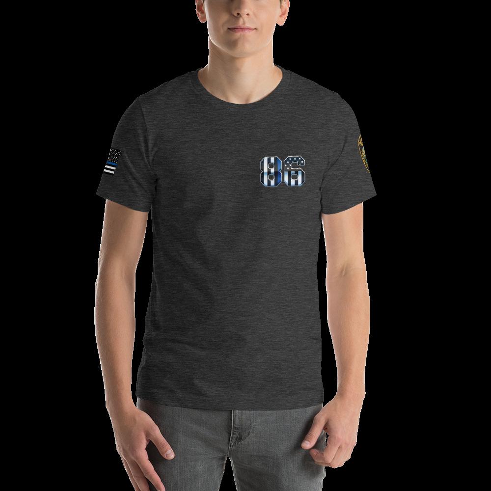 RETIRED 86 Short-Sleeve Unisex T-Shirt