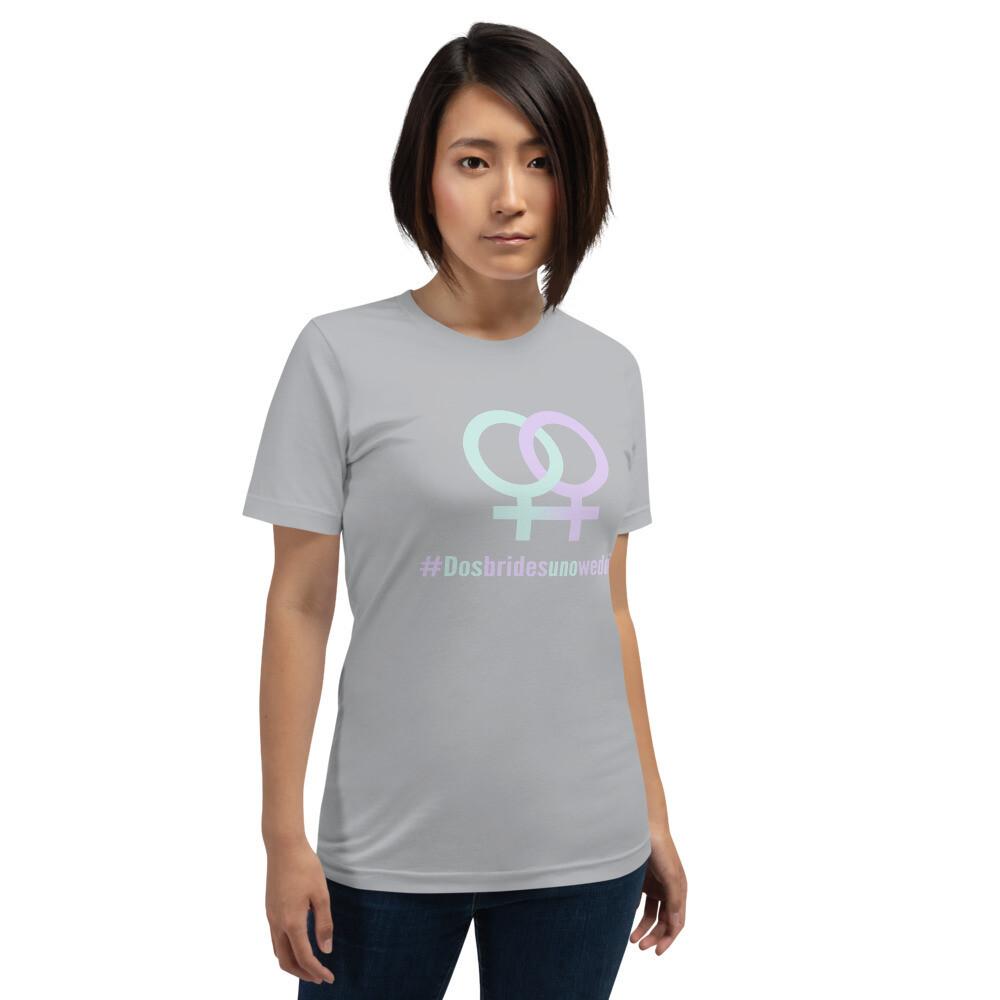 #DOSBRIDESUNOWEDDING Premium Softyle Short-Sleeve T-Shirt