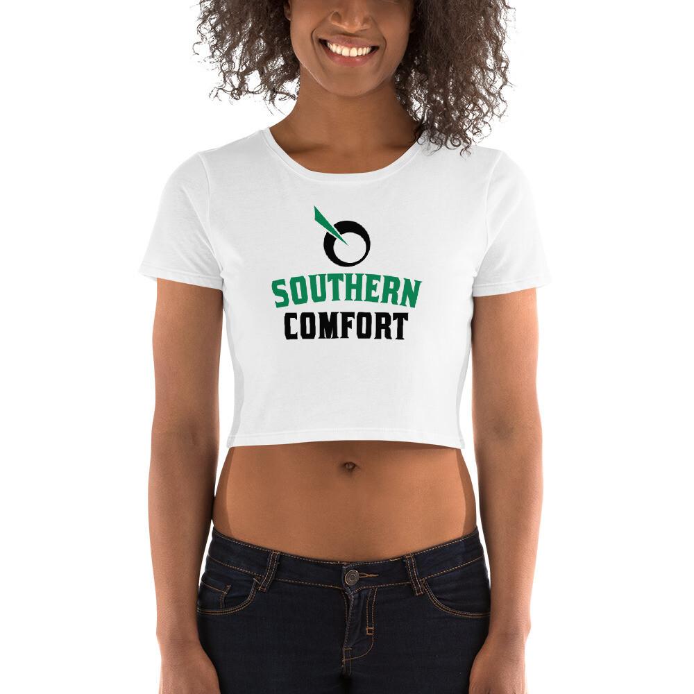 SEATTLE GENETICS SOUTHERN COMFORT Women's Crop Tee