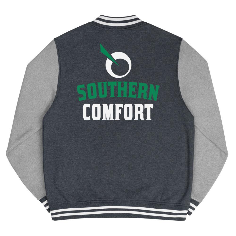 SEATTLE GENETICS SOUTHERN COMFORT Men's Letterman Jacket