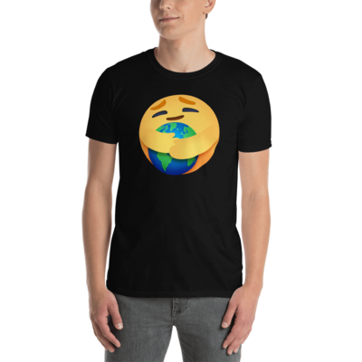 EARTH CARE EMOJI by FLOMAZIN Short-Sleeve Unisex T-Shirt