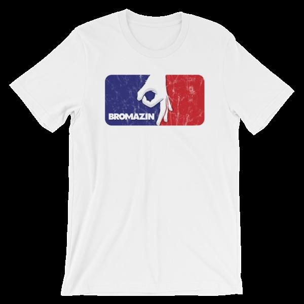 MAJOR LEAGUE BROMAZIN Grunge Short-Sleeve Unisex T-Shirt - Multiple Colors