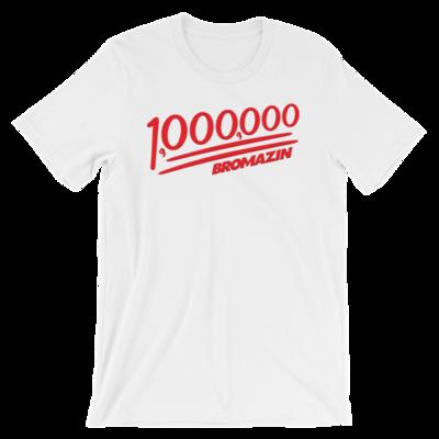 BROMAZIN BROMILLIONAIRE Short-Sleeve Unisex T-Shirt - Multiple Colors