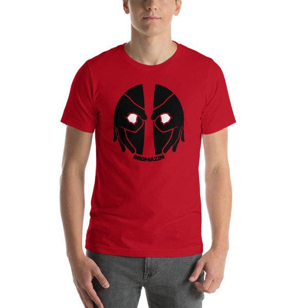 BROMAZIN BROPOOL Red Short-Sleeve Unisex T-Shirt
