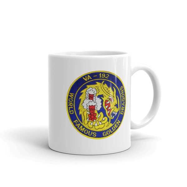 VA-192 WORLD FAMOUS GOLDEN DRAGONS Mug