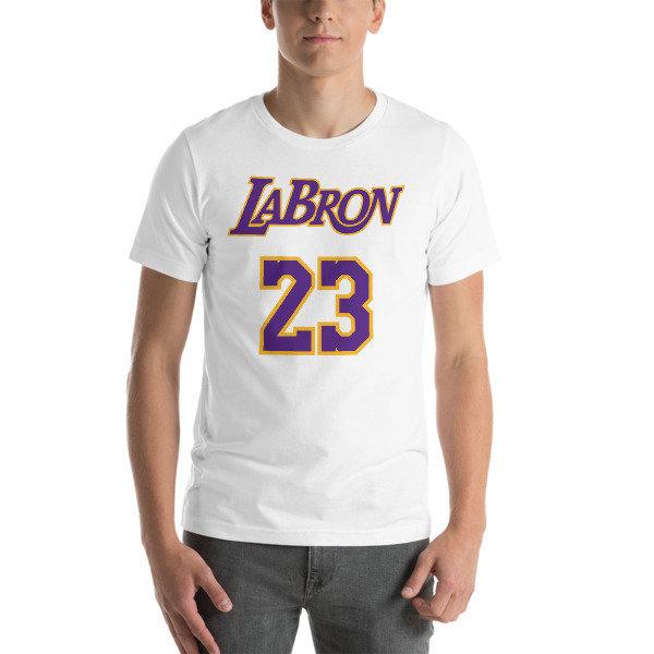 LABron White Short-Sleeve Unisex T-Shirt