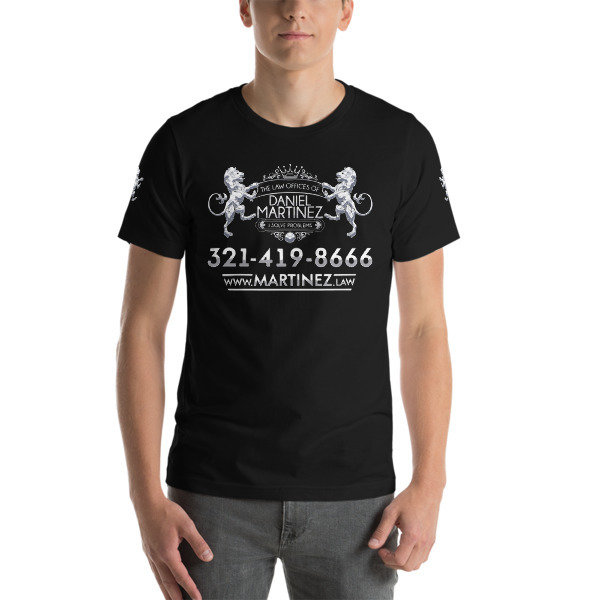 DANIEL MARTINEZ LAW Short-Sleeve Unisex T-Shirt