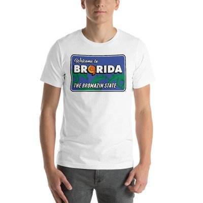 BRORIDA STATE SIGN Short-Sleeve Unisex T-Shirt - Multiple Colors