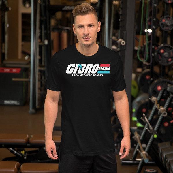 BROMAZIN G.I. BRO Short-Sleeve Unisex T-Shirts
