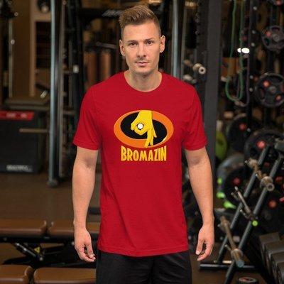 BROMAZIN INCREDIBROS Short-Sleeve Unisex T-Shirt