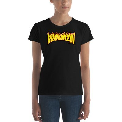 BROMAZIN THRASHBRO Women's short sleeve t-shirts